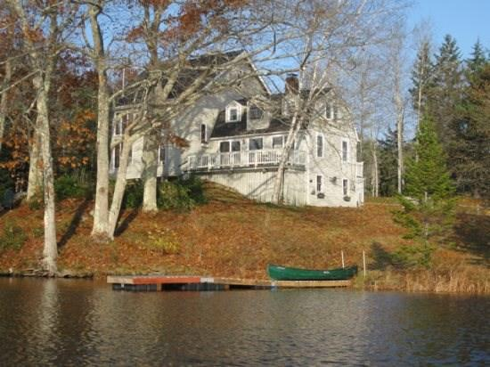 The beautiful view from Garravale with Autumn colors - Garravale Boothbay Harbor - Boothbay Harbor - rentals