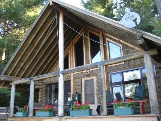 View of Vermont Log Cabin - Two Bedroom MountainTop Log Cabin - Brandon - rentals