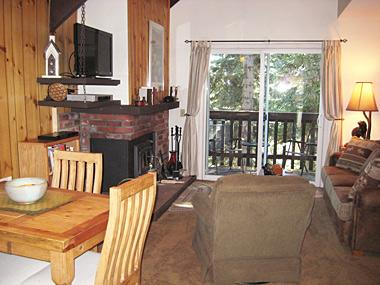 Living Room - Mammoth View Villas - MVV35 - Mammoth Lakes - rentals