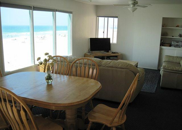 Great oceanview 2 bdrm, best deal on the Missin Beach boardwalk! - Image 1 - San Diego - rentals
