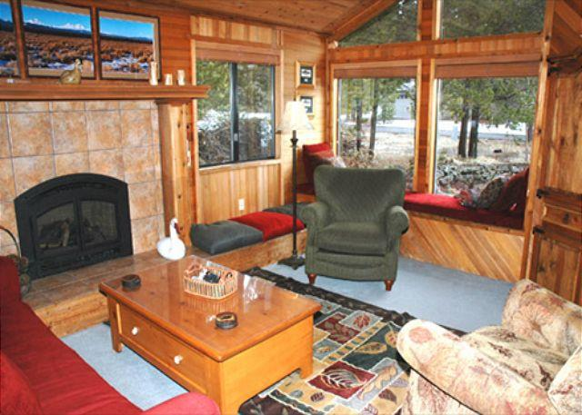 Another View of Living Room - sunirver cabin rentals - Sunriver - rentals