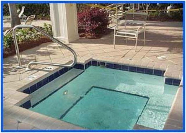 Spa beside Outdoor Pool - Beach Club Catalina 1105 - Gulf Shores - rentals