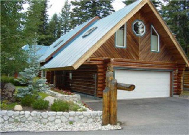 View - Spacious Log Home on Golf Course with Private Hot tub. - McCall - rentals