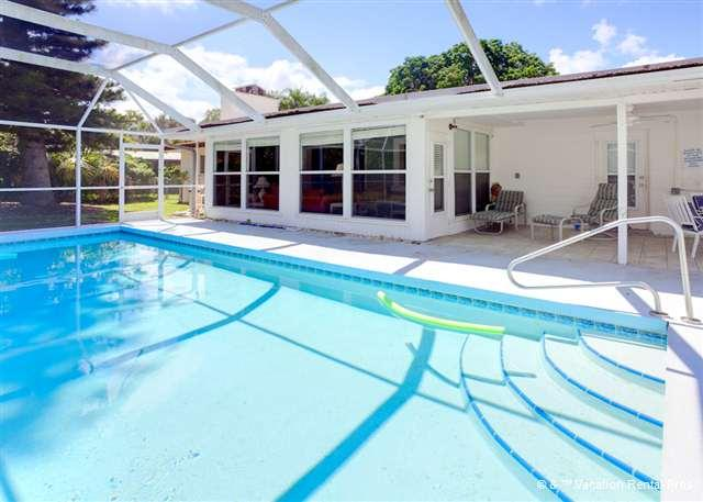 Our private pool can be your private oasis! - Parkdale Weekly Rentals, 4 bedrooms, heated pool - Venice - rentals