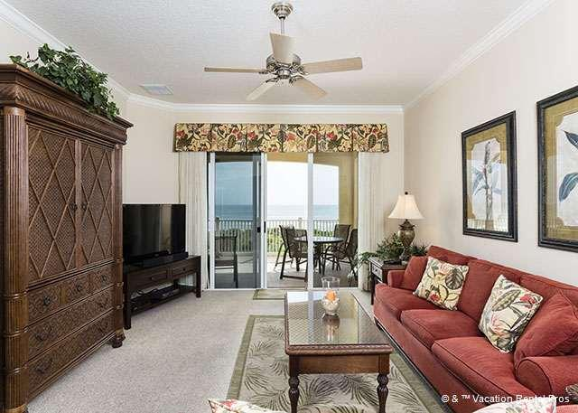 Escape into our beautifully decorated tropical paradise! - 534 Cinnamon Beach, 3rd Floor, Ocean Front, Sleeps 12, Wifi - Palm Coast - rentals