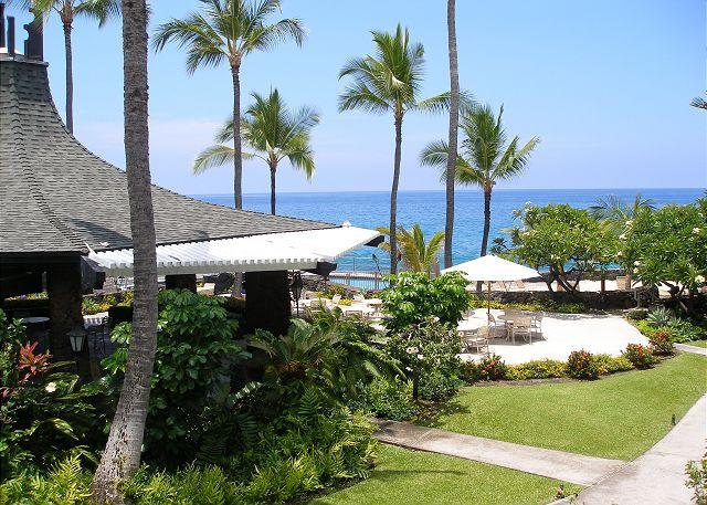 Beautiful ocean view from the lanai - #CDE 233 - Casa de Emdeko 233 - Kona Coast - rentals
