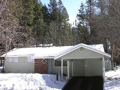 Exterior - Heavenly's Gunbarrel Slope in Distance - 1411 June Way - South Lake Tahoe - rentals
