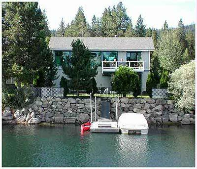 Exterior from Water - 1873 Venice Drive - South Lake Tahoe - rentals