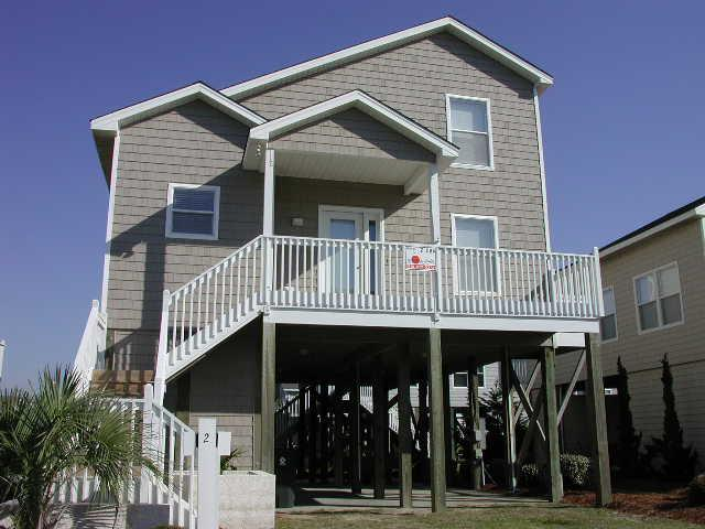 streetside of 2 Channel Dr. - Channel Drive 002 - Emerson - Ocean Isle Beach - rentals