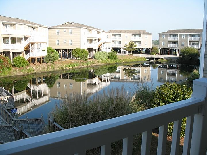 view from deck - Starboard By the Sea 250-2A-Rosemond - Ocean Isle Beach - rentals