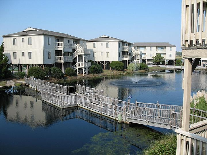 View from 250-2b - Starboard By the Sea 250-2B-Alden - Ocean Isle Beach - rentals