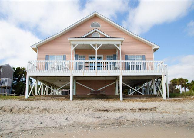 """A Shore Thing"" - Ocean Front Vacation Wonder - Image 1 - Edisto Beach - rentals"
