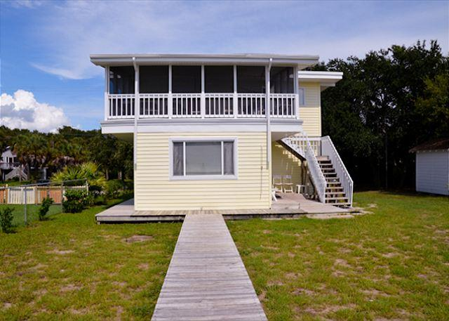 Davis - Small Beach Front Cottage With Screened Porch - Image 1 - Edisto Beach - rentals