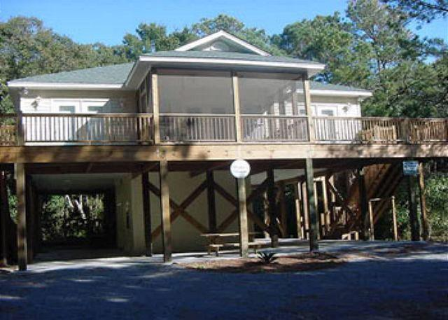 Exterior - Morillo's Miracle - Comfy,5FB Quiet Getaway Home on Edisto Beach - Edisto Beach - rentals