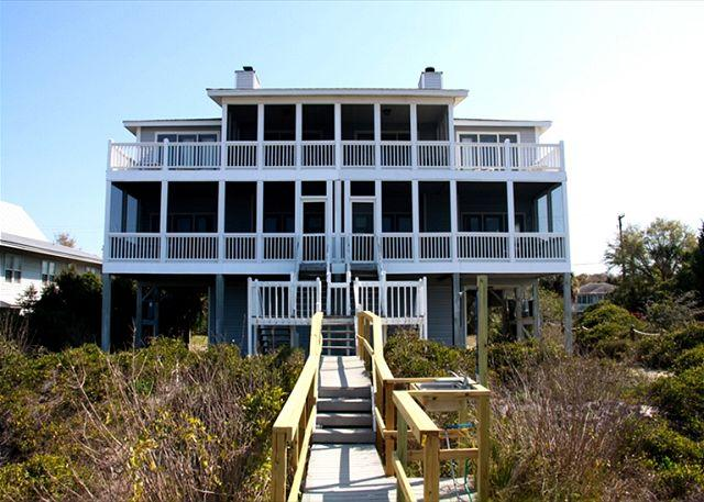 Pelican Pass - Beach Front, Sunset Views, Linens, & More - Image 1 - Edisto Beach - rentals