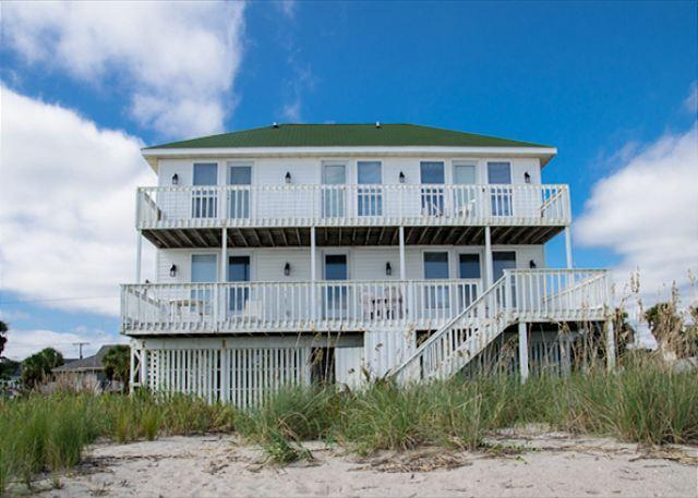 Salt Fix - 5 Bedroom Beach Front Vacation Home - Image 1 - Edisto Beach - rentals