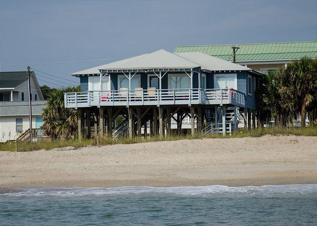 Sea Plus - 4 Bedroom Beach Front Home - Image 1 - Edisto Beach - rentals