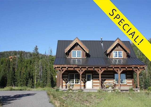 Receive $200 off a tour with Greater Yellowstone Guides when you book this home for a stay during the months of September and October. - Beehive Basin Cabin - Big Sky - rentals