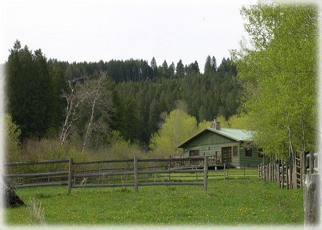 Beautiful setting on over 100 acres bordering National Forest service land - Brackett Creek Cabin - Bozeman - rentals