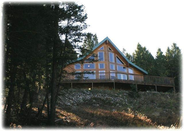 View of the front of the home - Lakeview Lodge - Anaconda - rentals