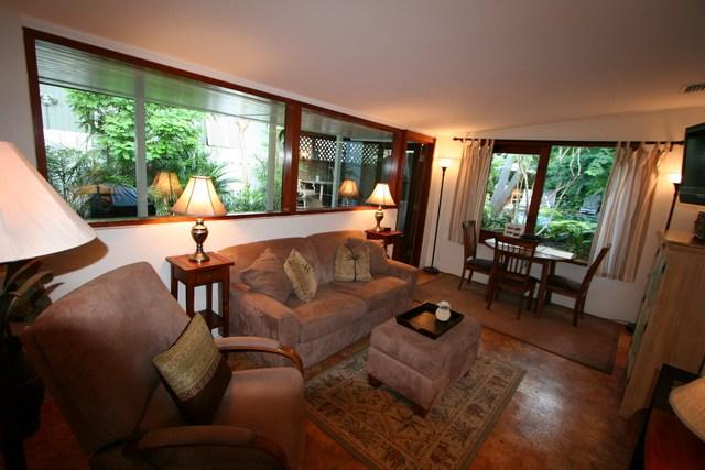 Living Room - Ann Street Gardens - Key West - rentals