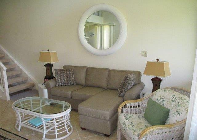 Living Room - Turtle Bay 021 West *** Available for 30 day rentals. Please call - Kahuku - rentals