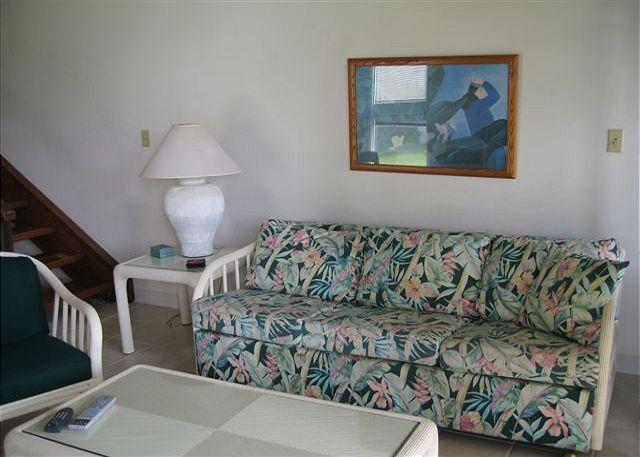 Living Room - Turtle Bay 109 West * Available for 30 day rental, please call - Kahuku - rentals