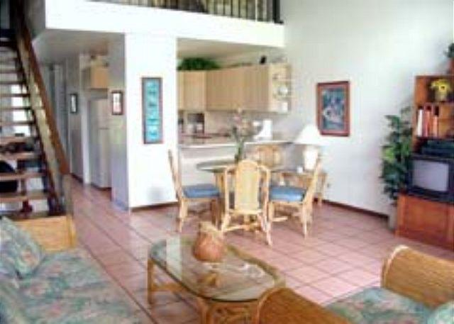 Livingroom/Kitchen - Turtle Bay 110 West * Available for 30 day rental, please call - Kahuku - rentals