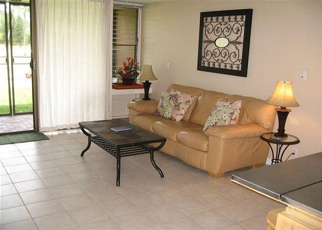 Living Room - Turtle Bay 116 West **  Available for 30 day rental, please call - Kahuku - rentals