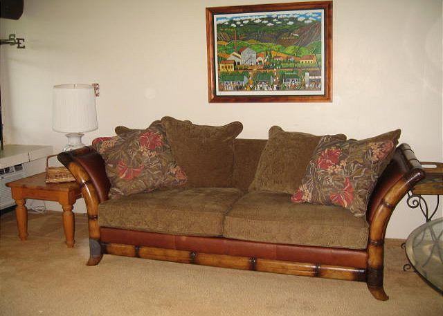 Living Room - Turtle Bay 148 East *Available for 30 day rental, please call. - Kahuku - rentals