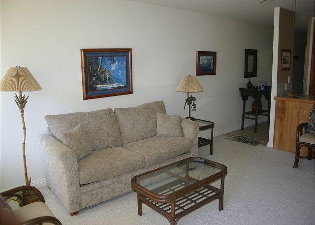 Living Room - Turtle Bay 189 West **  Available for 30 day rental - Kahuku - rentals