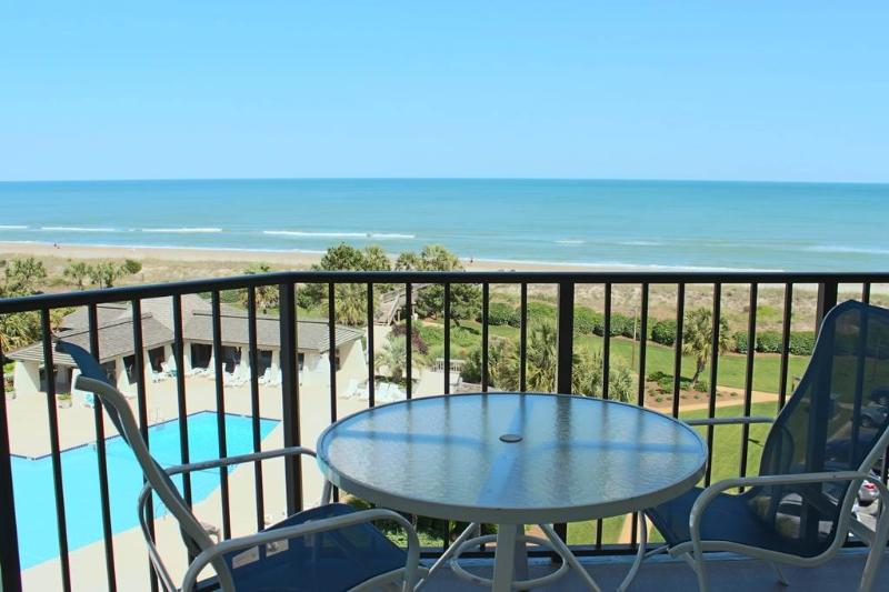 Captains Quarters D54 - Oceanfront - Image 1 - Pawleys Island - rentals
