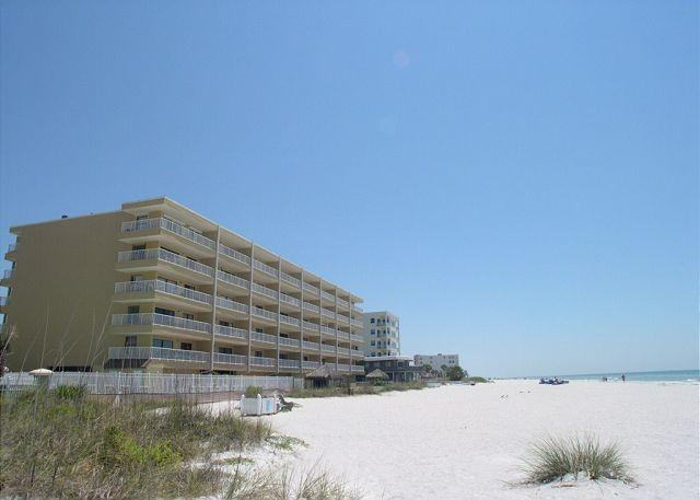 Sea Gate 104 - Dramatically upgraded 2nd floor Gulf Front condo with wifi! - Image 1 - Indian Shores - rentals