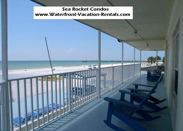 Sea Rocket #7  Gulf Front, ground floor, Totally Renovated condo! - Image 1 - North Redington Beach - rentals