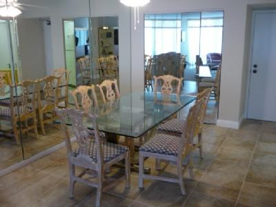 Dining Room - South Seas 1-1608 - Marco Island - rentals
