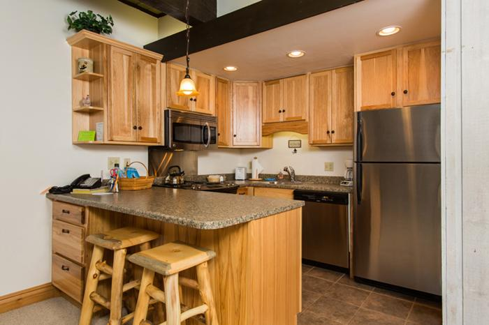 Storm Meadows Club A - Fully Equipped Kitchen. Newly Renovated - Storm Meadows Club A. Ski-in/out. Renovated 1BR - Steamboat Springs - rentals