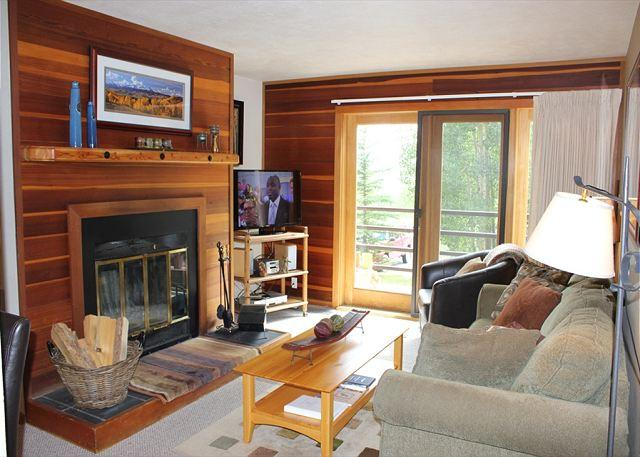 TR308 Lovely Condo w/Wifi, Clubhouse, Mountain Views, Fireplace - Image 1 - Silverthorne - rentals