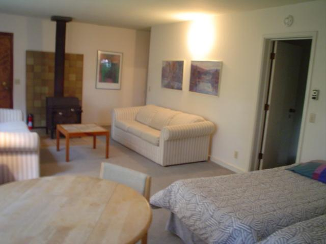 downstairs living room and beds - USF - The Sea Ranch - rentals