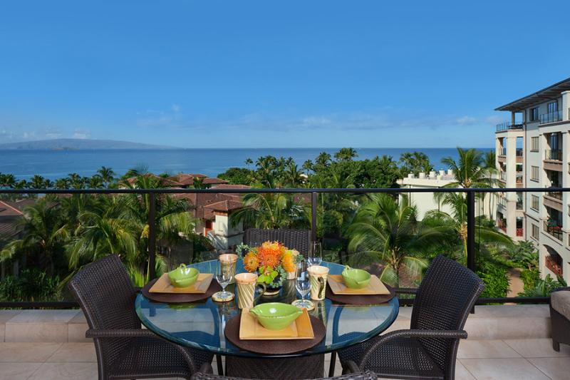 Incredible Outdoor Veranda with Panoramic Ocean and Sunset Views! - Grand Seascape K407 Wailea Beach Villas - Wailea - rentals