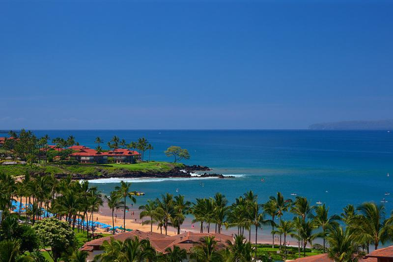 Amazing Panoramic Ocean and Wailea Beach View from the M511 Regal Mandalay Terrace - Regal Mandalay M511 Wailea Beach Villas - Wailea - rentals
