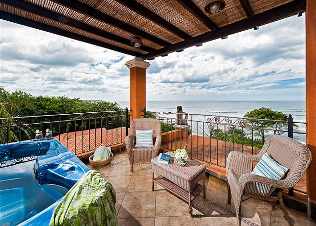 Amazing Views - Beautiful oceanview condo- jacuzzi, balcony, kitchen, internet, a/c, TV - Tamarindo - rentals