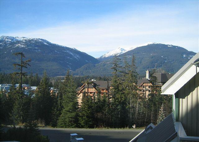 Mt view unit with great bed configuration for singles, kids, free parking - Image 1 - Whistler - rentals