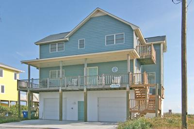 Streetside of House - 'Be Still - North Topsail Beach - rentals