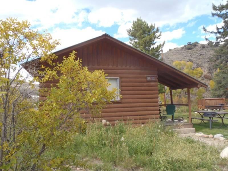 Rustic 1 BR Cabin Near River at Three Rivers Resort in Almont (#14) - Image 1 - Almont - rentals