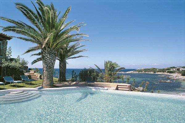 Right on the beach in a quiet and exclusive bay on the south-east tip of Sardinia. HII FEN - Image 1 - Sardinia - rentals