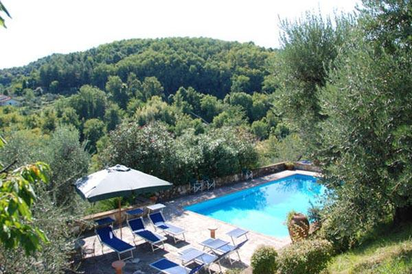 Large, spacious farmhouse with villa- like proportions in the hills of northwest Lucca. SAL PLZ - Image 1 - Lucca - rentals