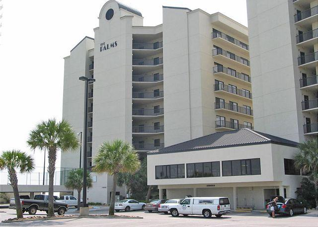 The Palms Front View - The Palms 904 - Orange Beach - rentals