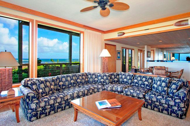 Ocean Front Prime 3 Bedroom Luxury Condo Unit 30 - Image 1 - Kahana - rentals