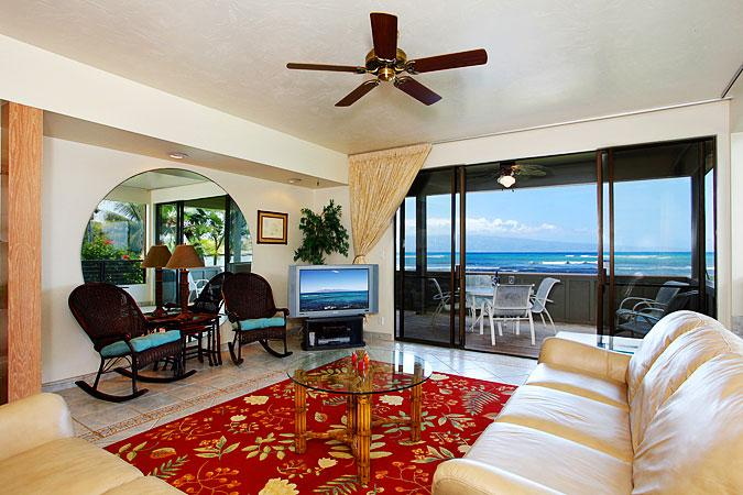 Ocean Front Prime 3 Bedroom Luxury Condo Unit 36 - Image 1 - Kahana - rentals
