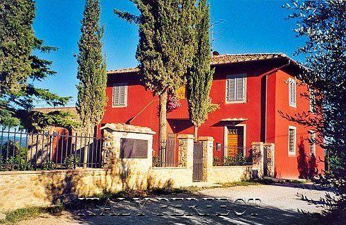 Casa Rossa - Tuscany Chianti Vineyard Villas, Incredible Views - Florence - rentals